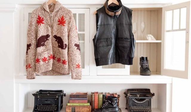 Flamingo's meet vintage; Johnny Wujek's Closet