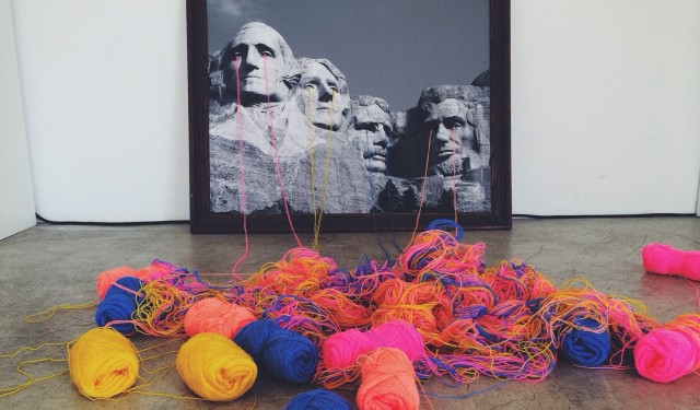 Embroidery the old by Mana Morimoto