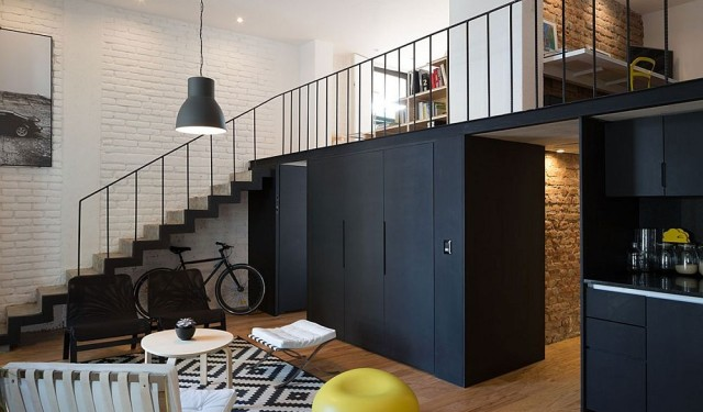 Industrial chic with a contemporary twist