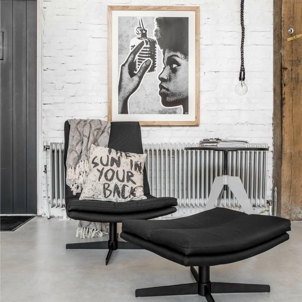 hk-living-stoel-loft-lounge-zwart-62x80x86cm