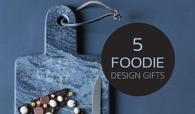 Xmas shopping: 5 design gifts for foodies