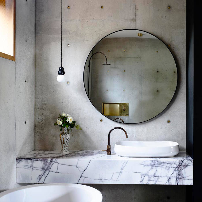 Studded-Concrete-Home-bathroom