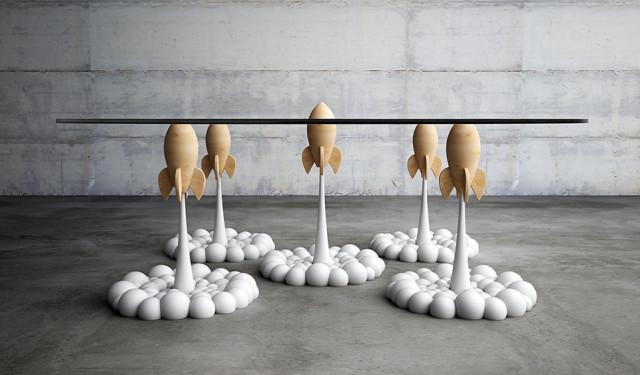 Fantasierijke meubels van Moussaris