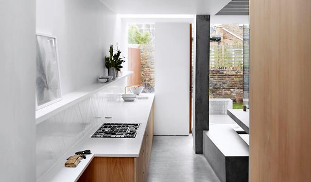 Keuken van beton en hout » label1114