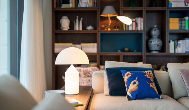 Design ontmoet traditie in dit flinke appartement in Beijing