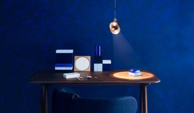 Stijlvol in blauw: LID en SPOT van Tom Dixon