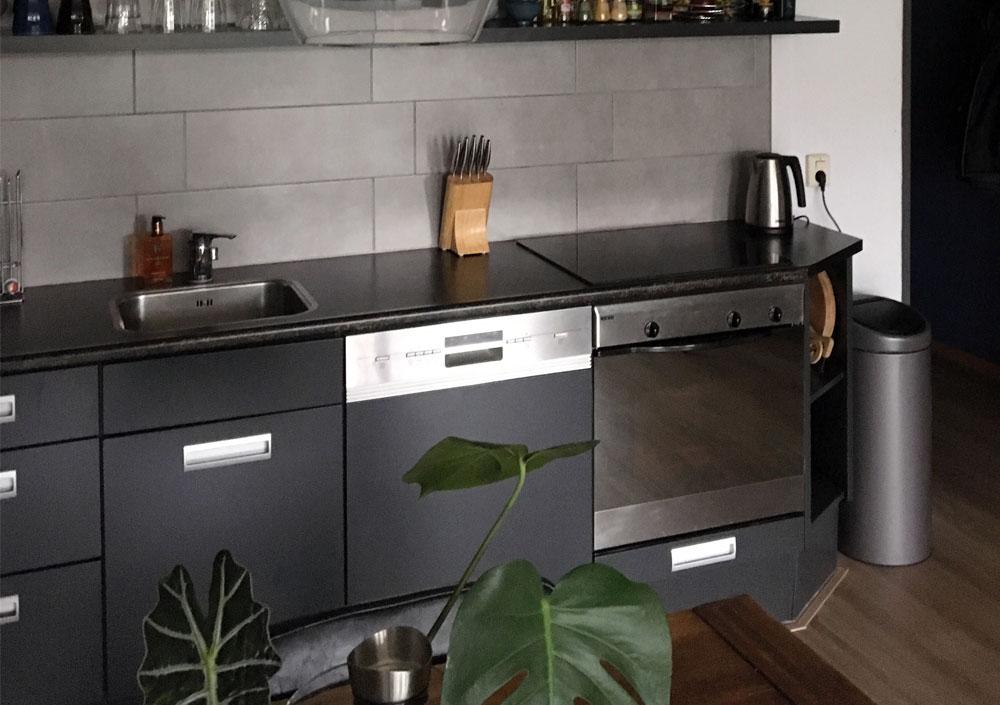 Gelukkig nieuwe keuken!