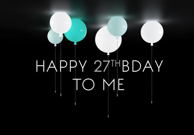 Happy 27th Birthday Label1114