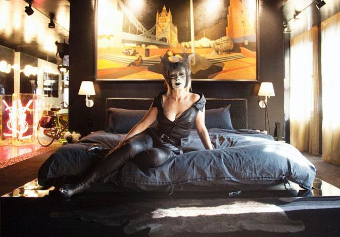 Het Nachtclub appartement van Cindy Gallop
