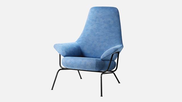 Hai-chair-Razzle Dazzle-hellblau-sa