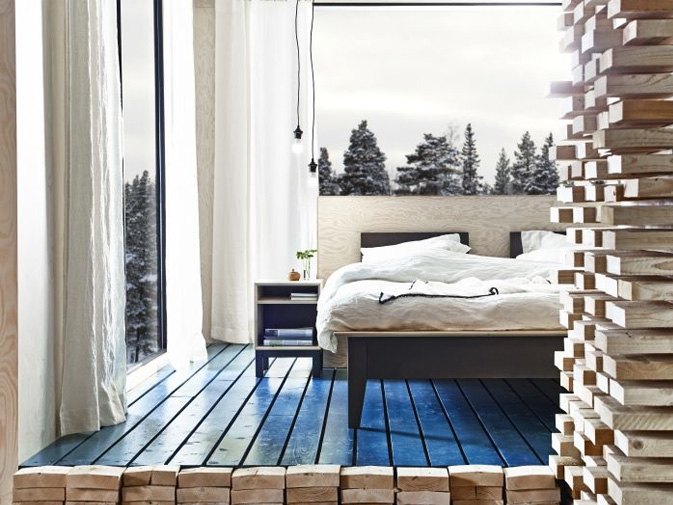 Pinning my favorite IKEA bathroom and bedroom