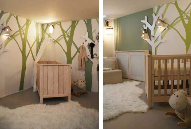 babykamer bos thema ~ lactate for ., Deco ideeën