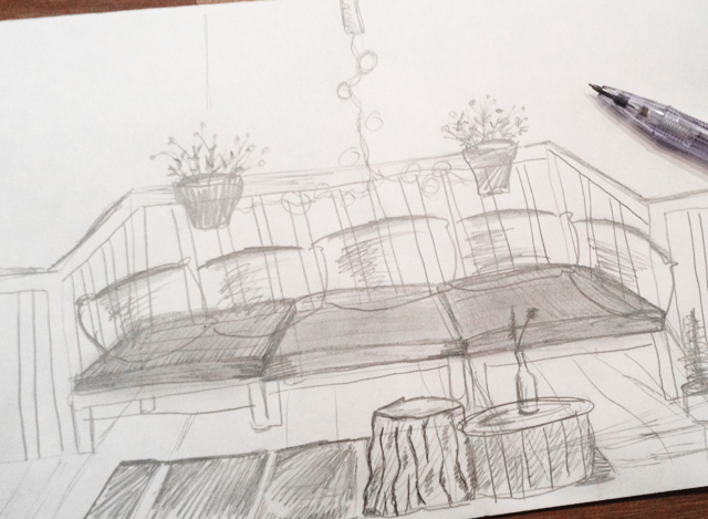 Sharing my balcony ideas