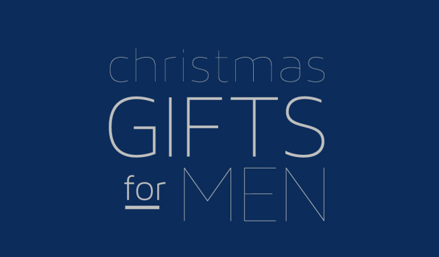 Fancy Friday: 5 Christmas gifts for men