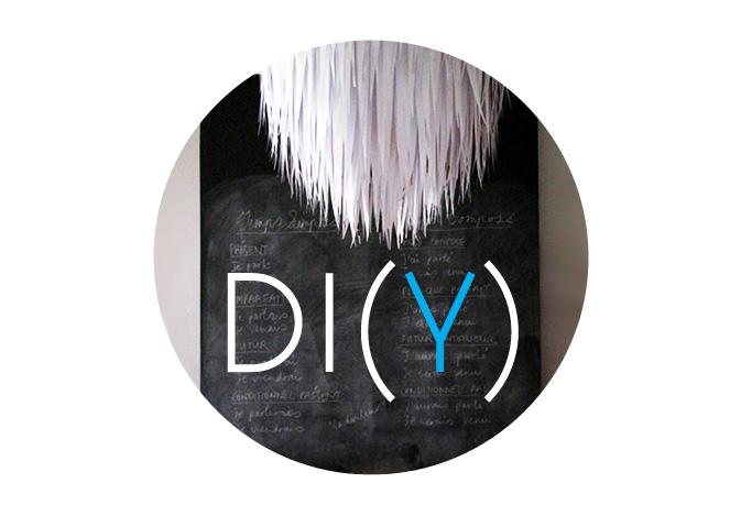 DI(Y): Papierstrook lamp