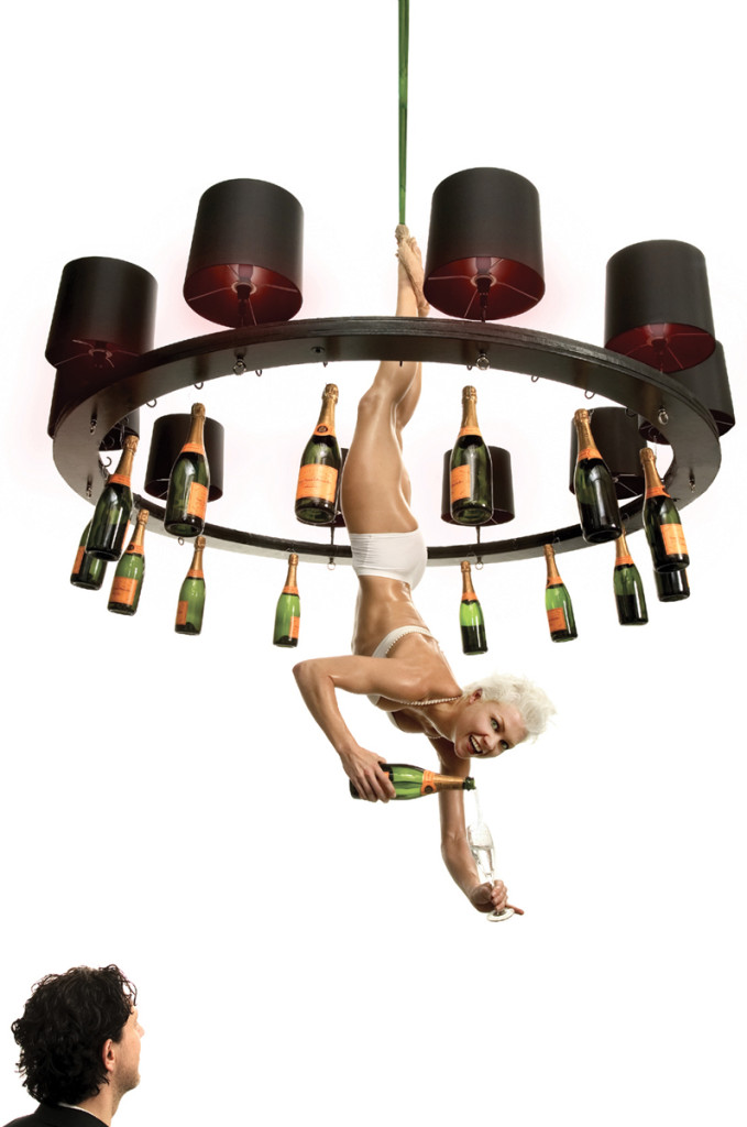 Happy Hour Chandelier