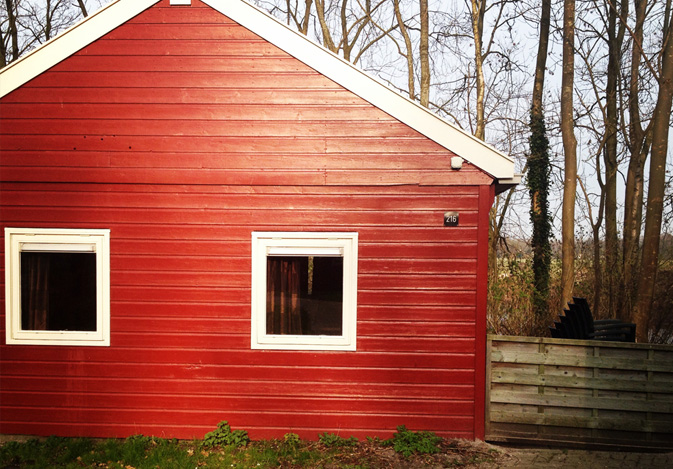 Holiday cabin redecoration