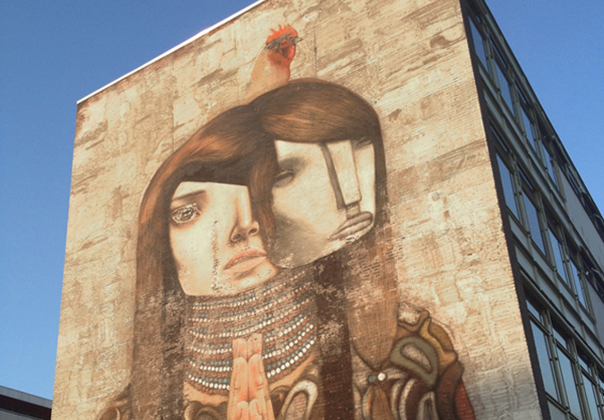 Inspired by street art #3