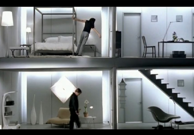 Interiors in music videos