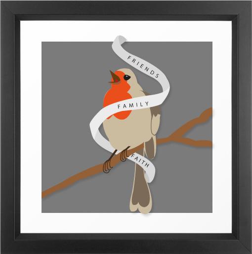 robin-natural-banner-framed
