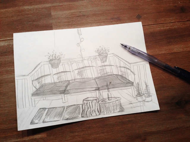 sketch-balcony